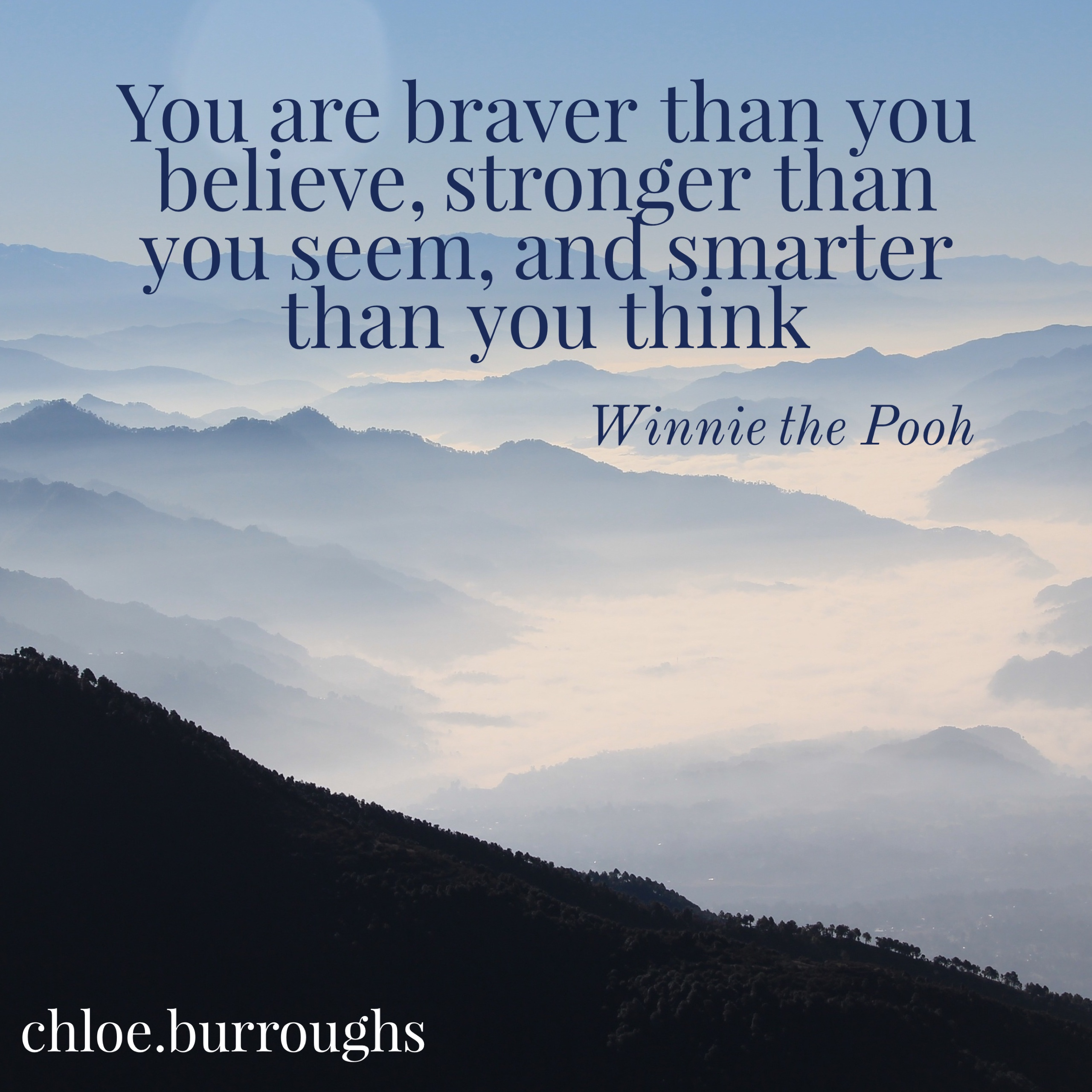 Winnie the pooh - quote