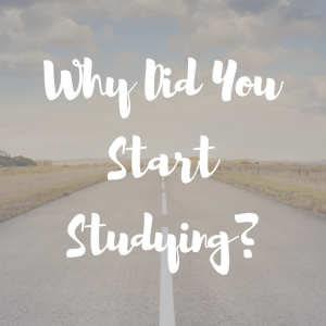 Why Did You Start Studying Crop