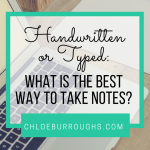 Handwritten or Typed: What is the Best Way to Take Notes?