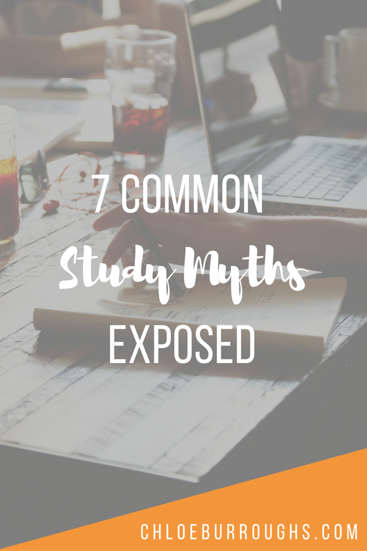 7 Common Study Myths Exposed