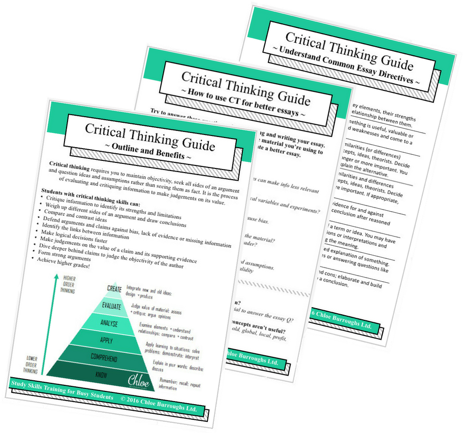 how to improve your critical thinking for higher grades  sign up below for a 6 page mini guide to improve your critical thinking skills