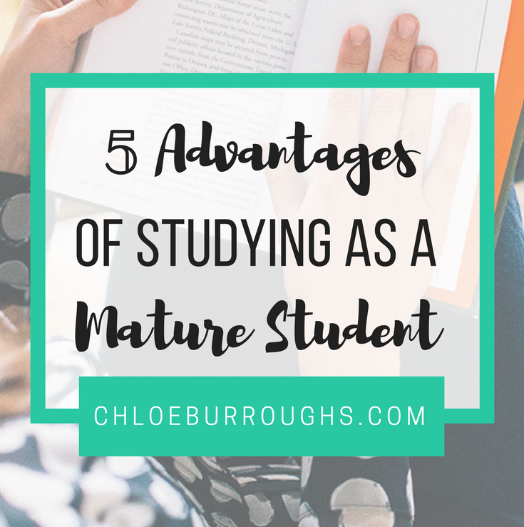 5 Advantages of Studying as a Mature Student