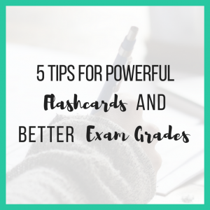 5 Tips for Powerful Flashcards and Better Exam Revision short