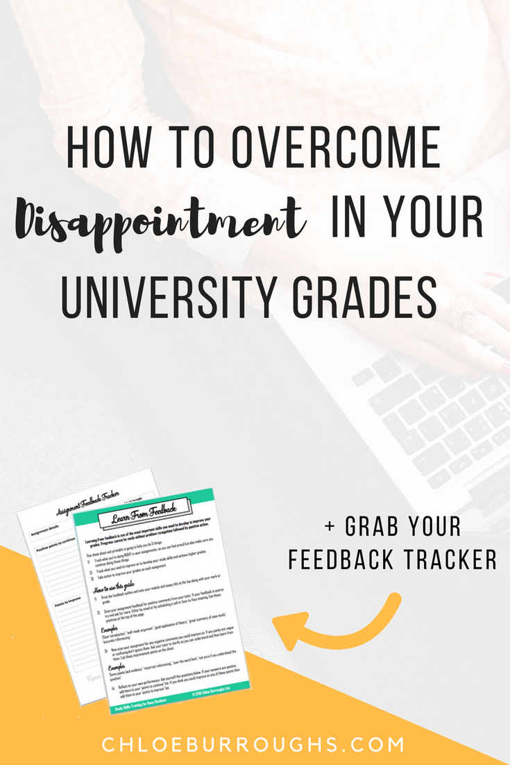 How to Overcome Disappointment in Your University Grades 2
