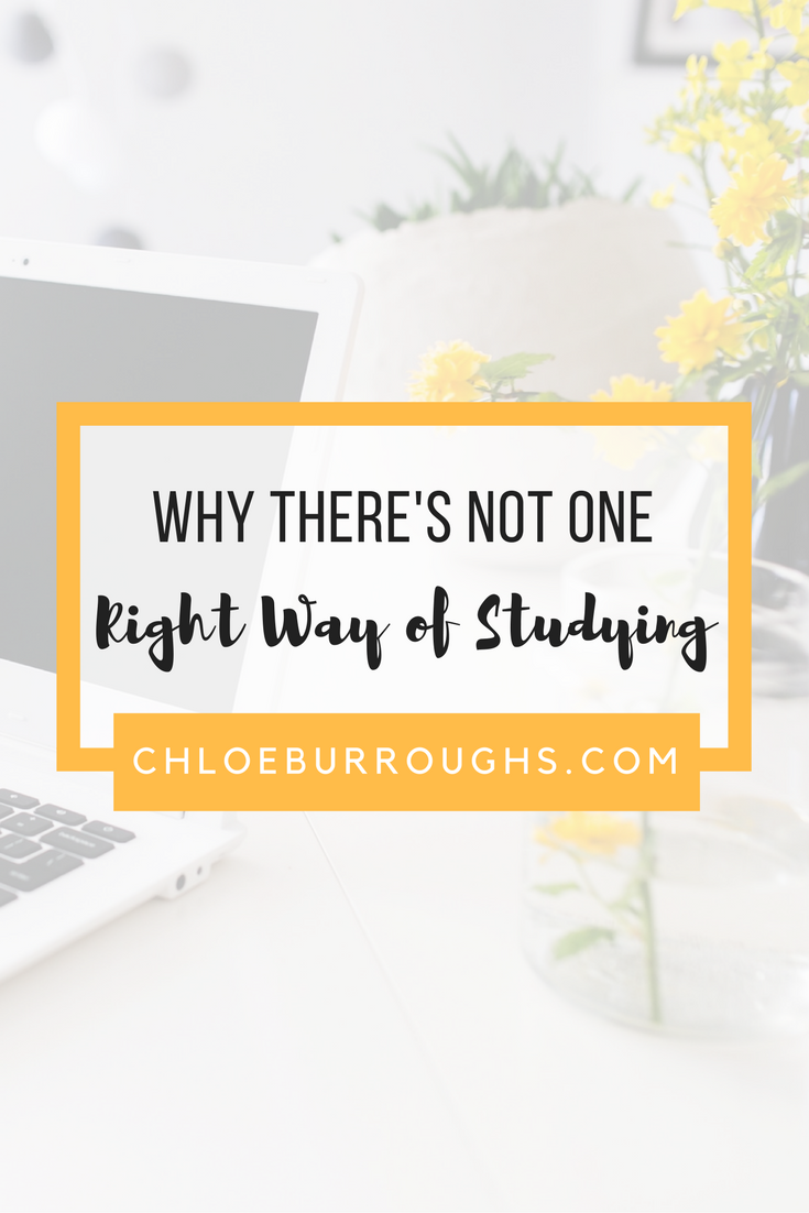 Why There's Not One Right Way of Studying6
