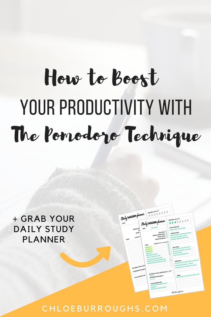 How to Boost Your Productivity With the Pomodoro Technique1