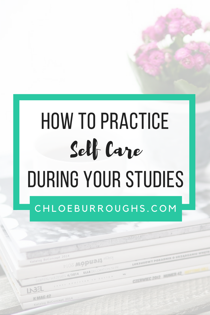 How to Practice Self Care During Your Studies5