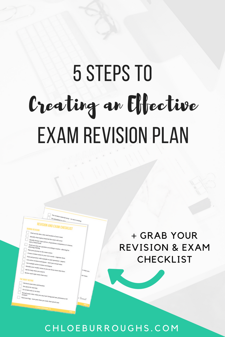 5 Steps to Creating an Effective Exam Revision Plan2