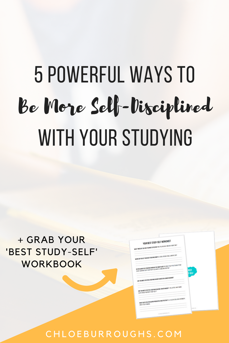5 powerful ways to be more self-disciplined with your studying1