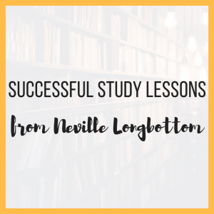 Successful Study Lessons from Neville Longbottom