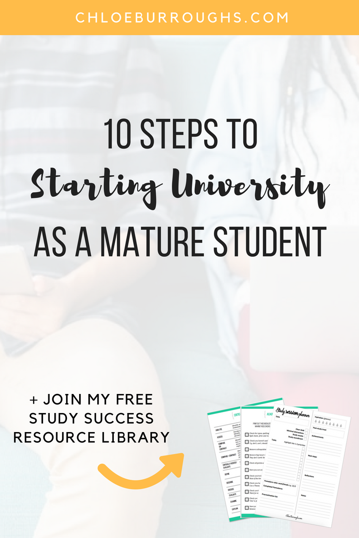 10 Steps to Starting University as a Mature Student 3