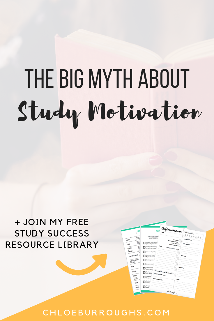 The Big Myth About Study Motivation 1