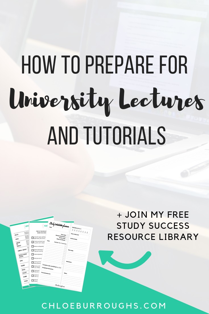 How to Prepare for University Lectures and Tutorials 2