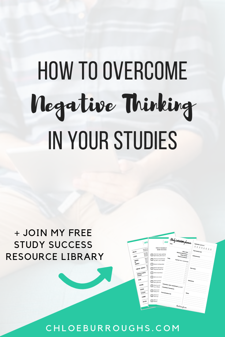 How to Overcome Negative Thinking in Your Studies 1