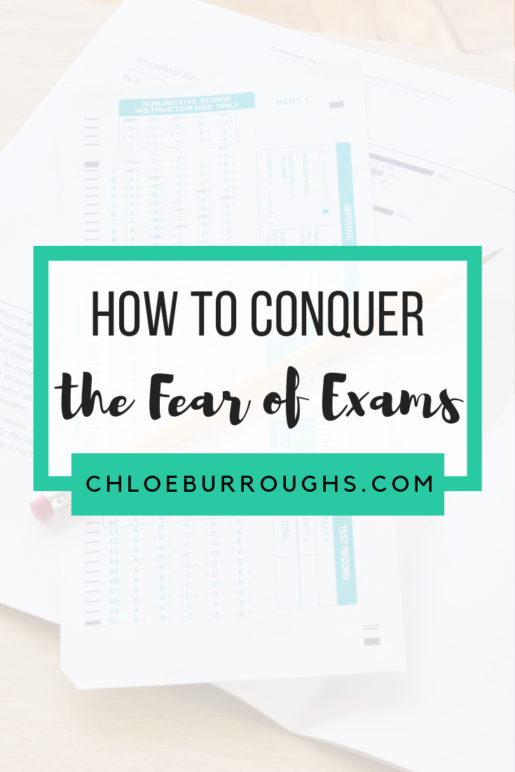 How to Conquer the Fear of Exams 6