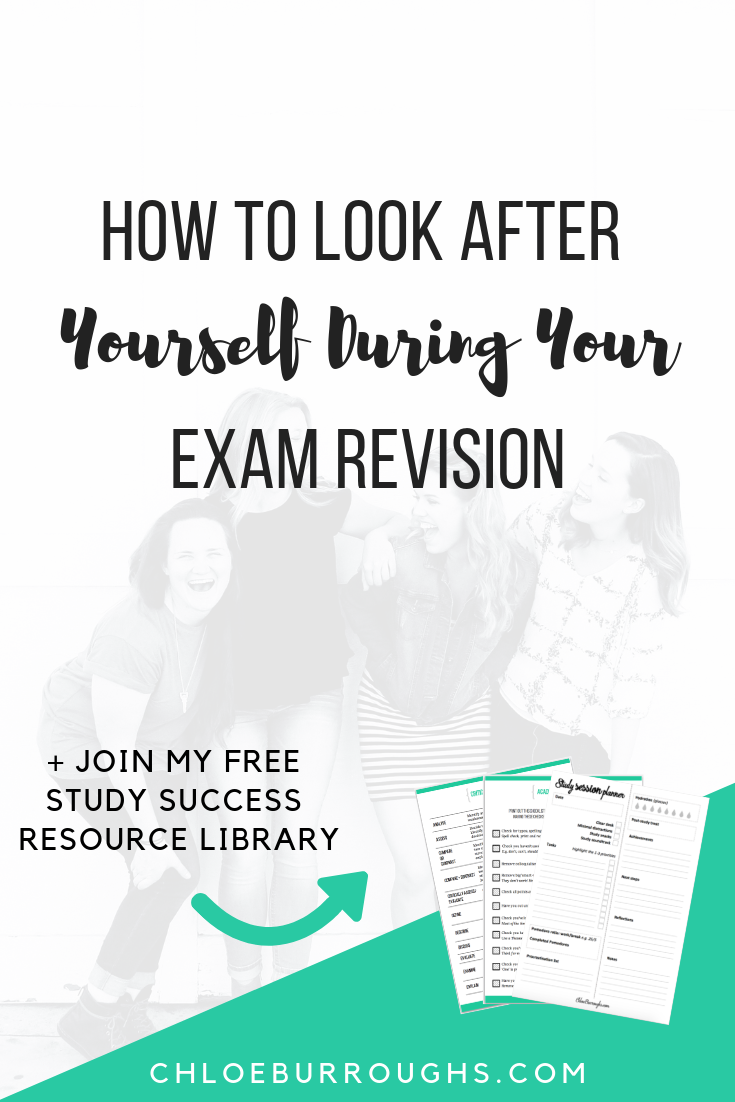 How to Look After Yourself During Your Exam Revision 1
