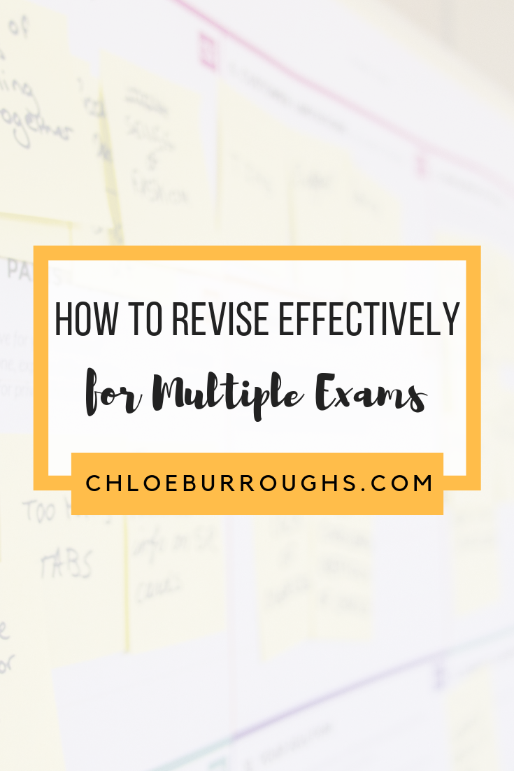 How to Revise Effectively for Multiple Exams 5