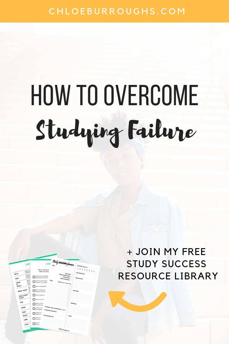 How to Overcome Studying Failure 4