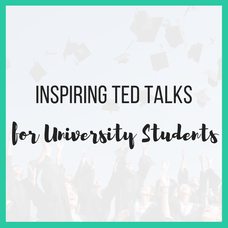 Inspiring Ted Talks for University Students featured