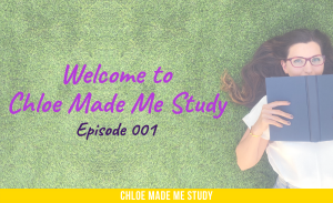 Chloe Made Me Study episode 1