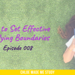 How to Set Effective Studying Boundaries