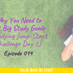 Why You Need to Set Big Study Goals (Studying Jump-Start Challenge Day 5)