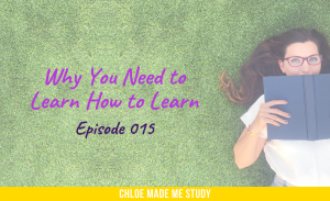 Why You Need to Learn How to Learn