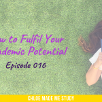 How to Fulfil Your Academic Potential