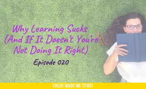 Why Learning Sucks (And If It Doesn't You're Not Doing It Right)