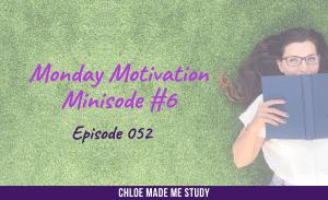 Ep.052 Monday Minisode #6