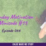Ep.066 Monday Minisode #13