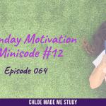 Ep.064 Monday Minisode #12