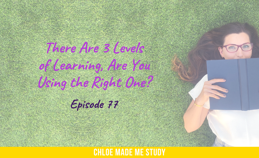 There Are 3 Levels of Learning, Are You Using the Right One?