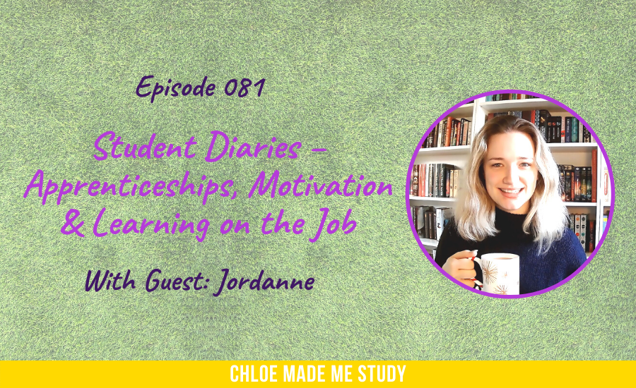 Student Diaries – Apprenticeships, Motivation & Learning on the Job