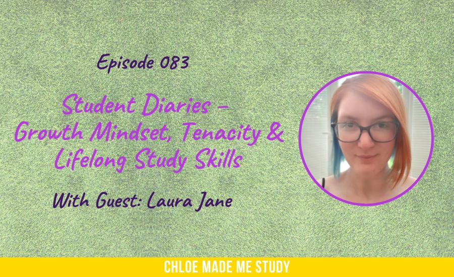 Student Diaries – Growth Mindset, Tenacity & Lifelong Study Skills