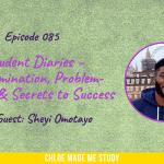 Student Diaries – Determination, Problem-Solving & Secrets to Success