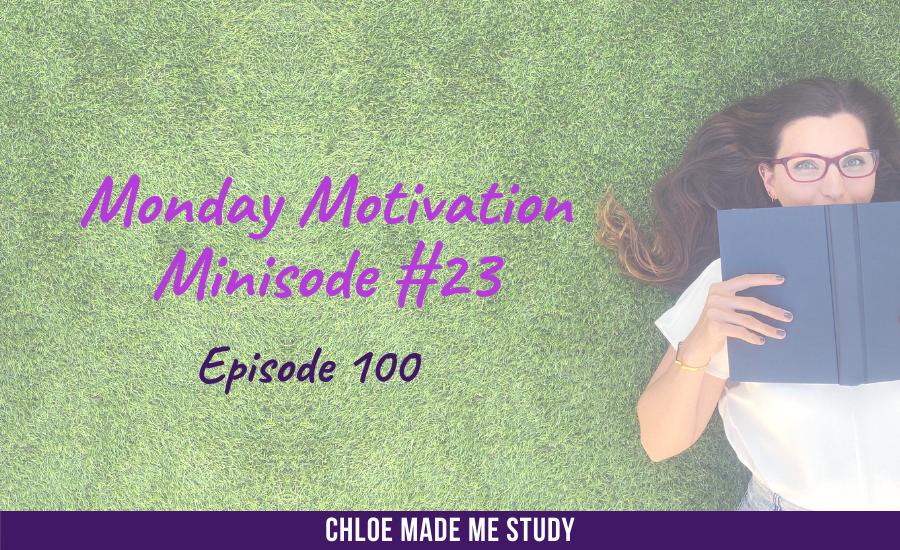 Ep.100 Monday Minisode #23